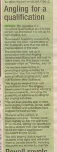 School PR appears in local newspaper