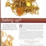 Freelance copywriting for jewellery magazine