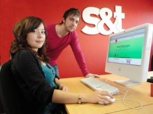 PR promoting apprenticeship scheme
