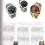 Copywriting for jewellery magazine