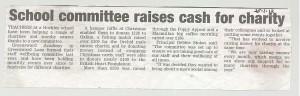 Charity success