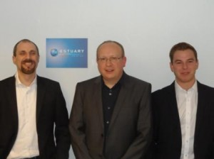James Circus with his management team at Estuary Logistics