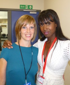 KLC with Michelle Gayle at MA