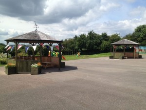 The Day Nursery is based in an acre of land