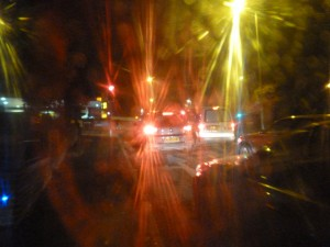 Glick road glare